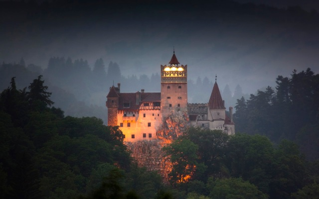 Bran Castle. Apparently it's for sale. I don't think I'll buy it though.